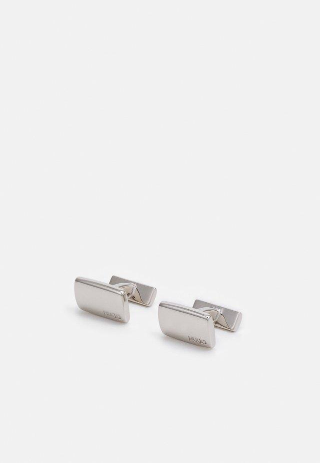 E-LIBERTY - Boutons de manchette - silver-coloured