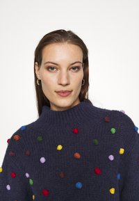 Farm Rio - COLORFUL DOTS  - Jumper - navy - 3