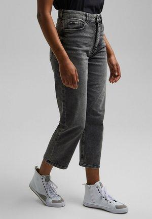 Straight leg jeans - black dark washed