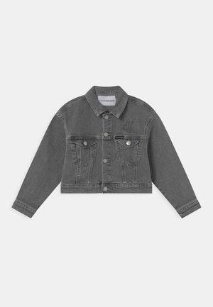 ELASTIC  - Kurtka jeansowa - grey