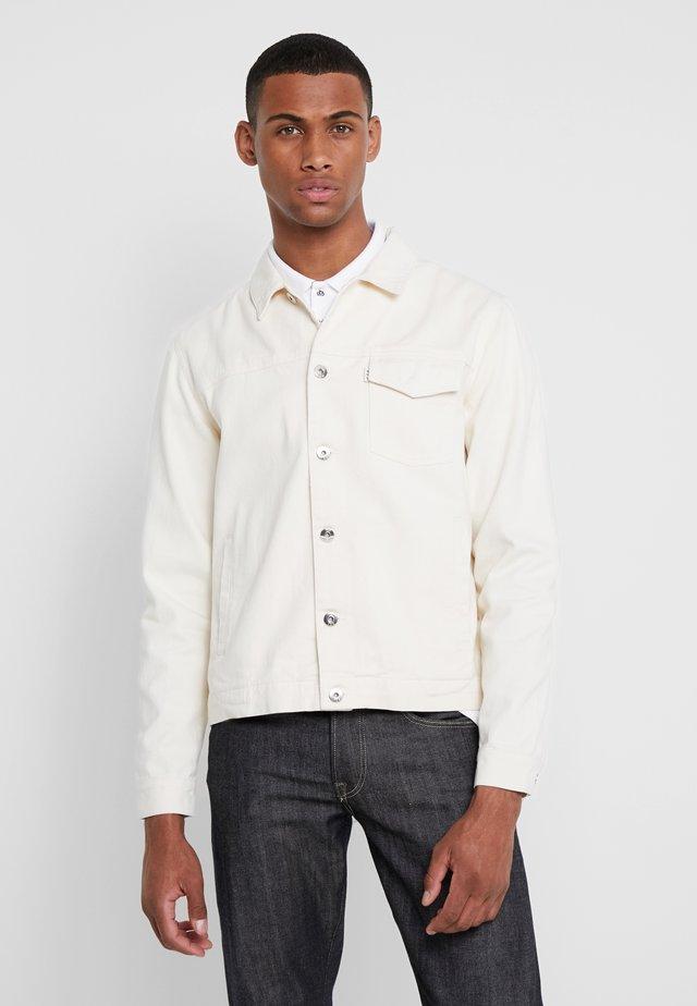 TRUCKER JACKET - Giacca di jeans - ecru