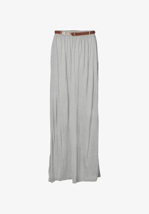 Maxi skirt - light grey melange