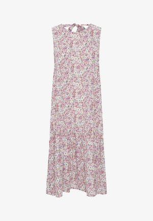 Day dress - cameo pink multi color