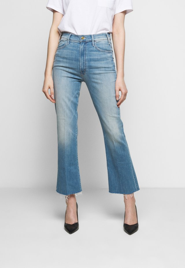 THE HUSTLER ANKLE FRAY - Jeans Bootcut - blue denim