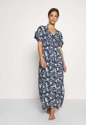 SAN LUCAS BEACH LONG DRESS - Doplňky na pláž - navy