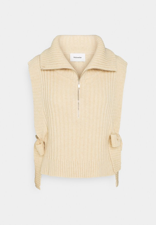 HAFJELL - Pullover - beige
