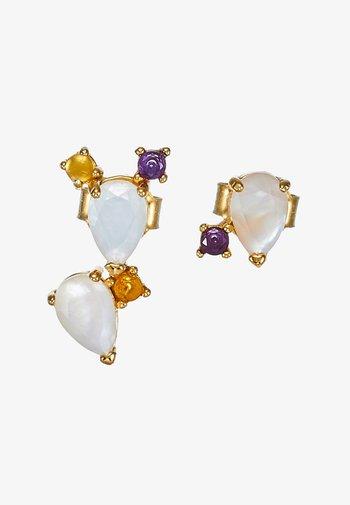 EARRINGS CITRIC PETITE SET - Earrings - gold-coloured