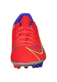 Nike Performance - MERCURIAL VAPOR ACADEMY AG F - Moulded stud football boots - bright crimson/metallic silver - 5