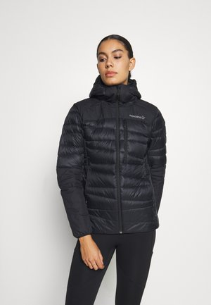 FALKETIND HOOD - Down jacket - black