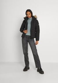 Superdry - CLASSIC FUJI JACKET - Winter jacket - black - 1