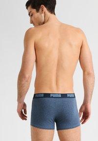 Puma - BASIC TRUNK 2 Pack - Culotte - blue - 1