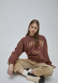 PULL&BEAR - Mikina - light brown - 4