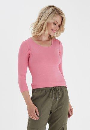 KIKSEN  - Long sleeved top - pink lemonade