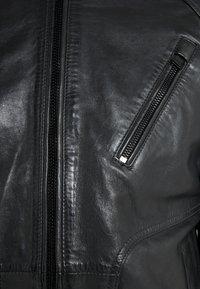 JOOP! Jeans - LIMA - Læderjakker - black - 6