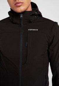 Icepeak - LEONIDAS - Soft shell jacket - black - 8
