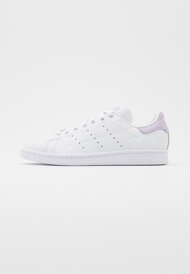 STAN SMITH - Baskets basses - footwear white/purple tint/core black