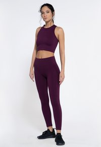 Heart and Soul - Collant - plum - 1