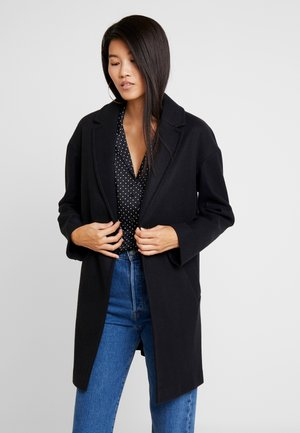 JANE CHUCK ON - Classic coat - black