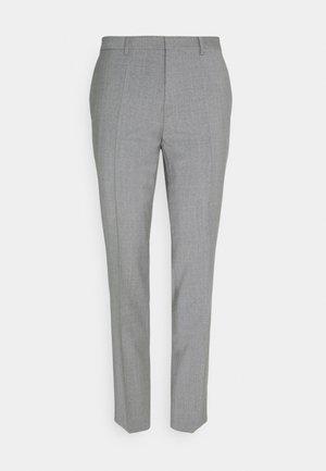 HESTEN - Suit trousers - dark grey
