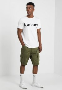 G-Star - ROVIC ZIP RELAXED - Short - sage - 1