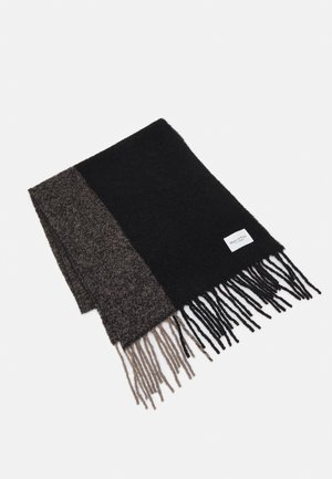 SCARF CURLY FRINGES - Sjaal - black
