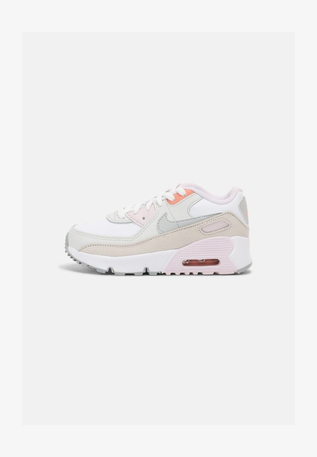 AIR MAX 90 UNISEX - Sneakers laag - white/platinum/violet/crimson bliss