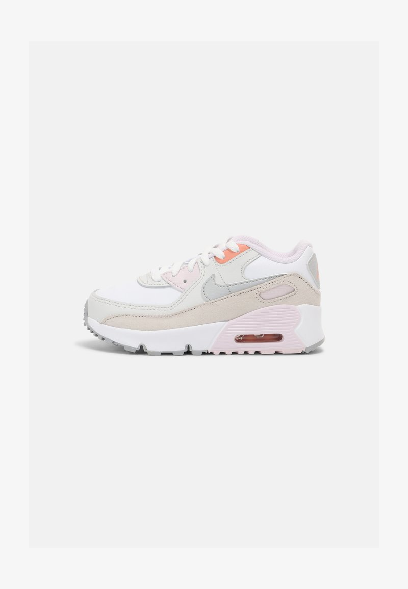 Nike Sportswear - AIR MAX 90 UNISEX - Trainers - white/platinum/violet/crimson bliss