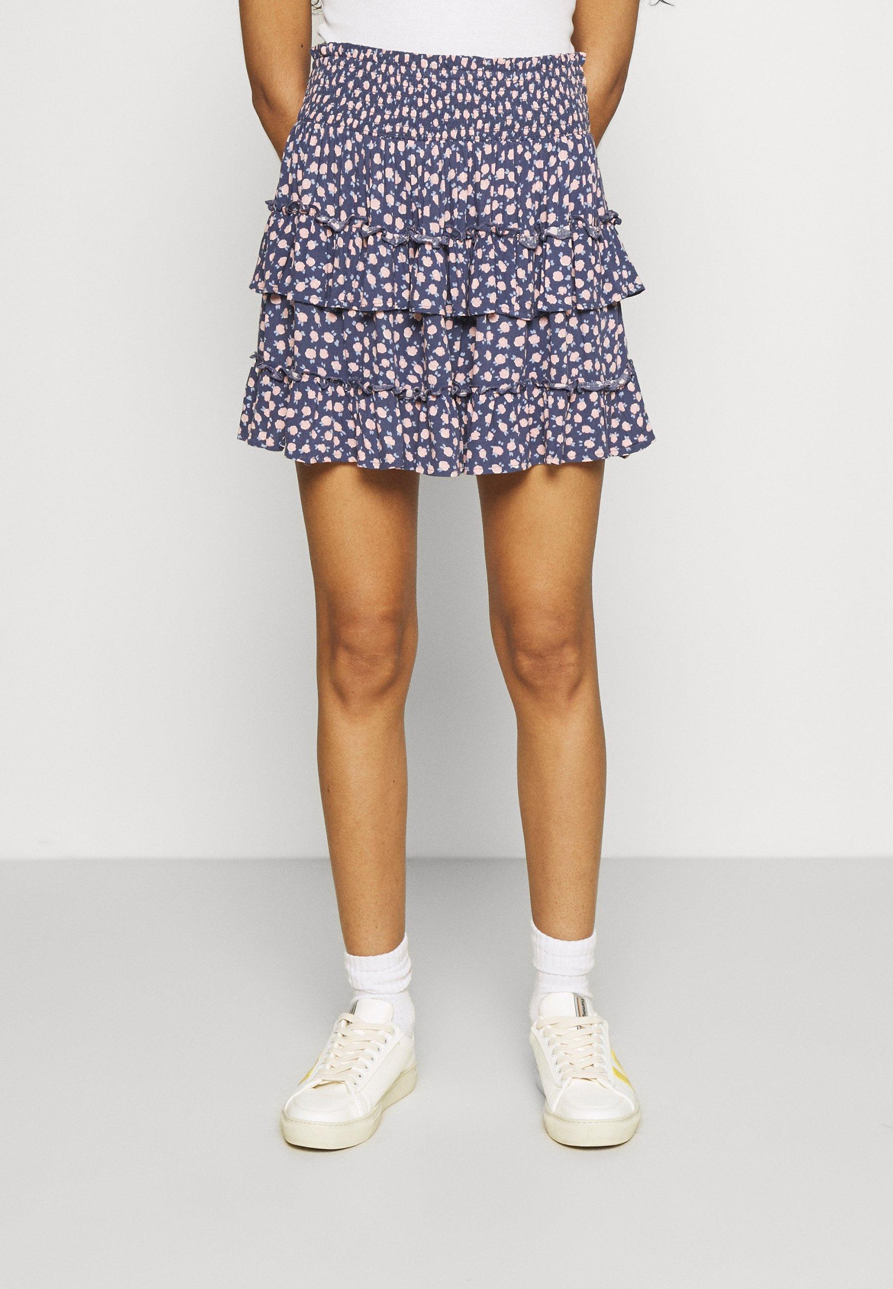 Women RUFFLE MINI SKIRT - Mini skirt
