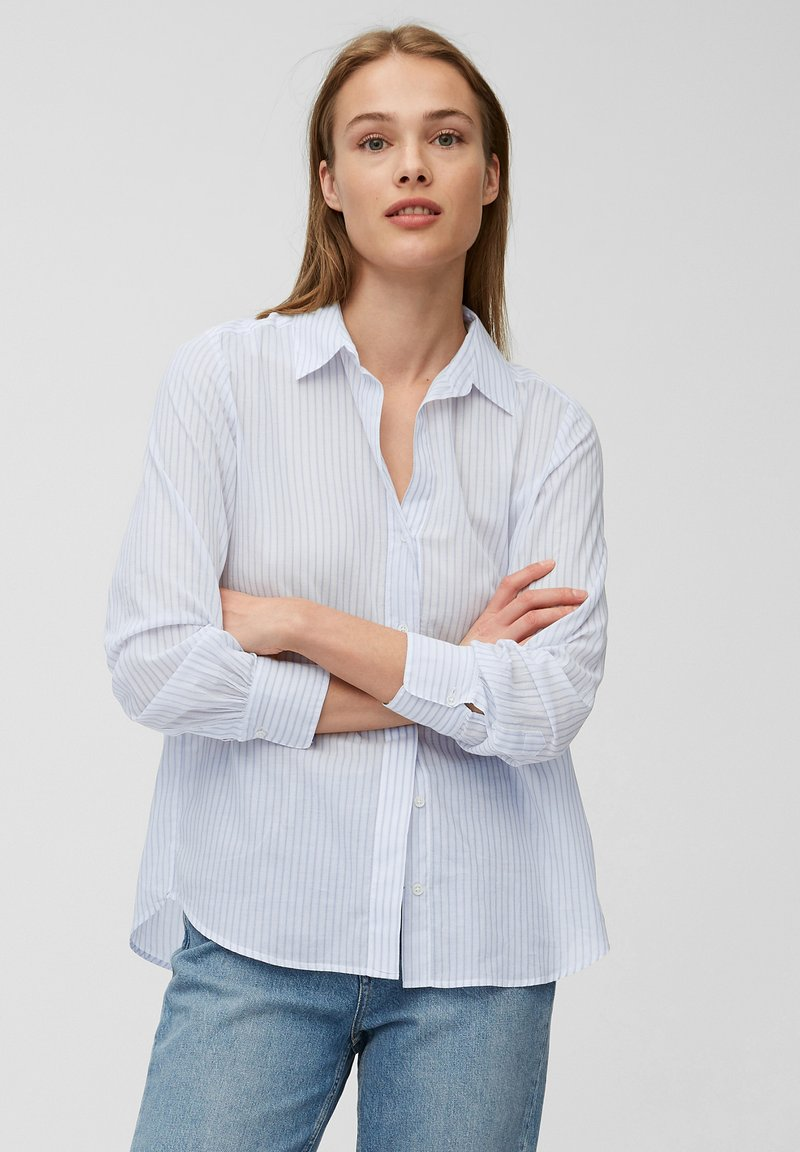 Marc O'Polo - Button-down blouse - light blue