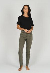 Angels - Slim fit jeans - khaki - 1