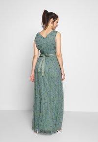 Anaya with love Maternity - SLEEVELESS V NECK MAXI DRESS - Společenské šaty - green - 2