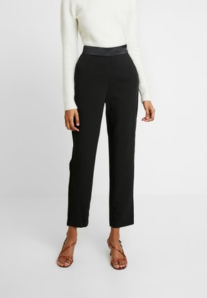TUXEDO PANT - Kalhoty - black