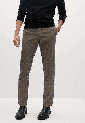 BREST - Pantalon classique - béžová