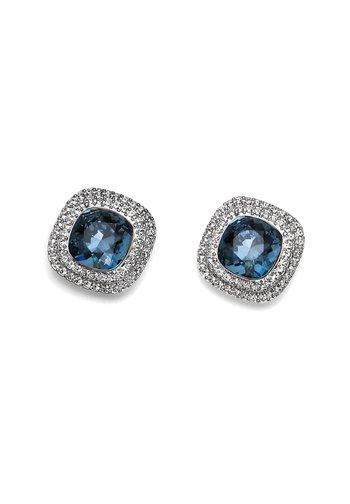 AUTENTIC - Boucles d'oreilles - blau