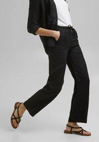 Esprit - Trousers - black - 6