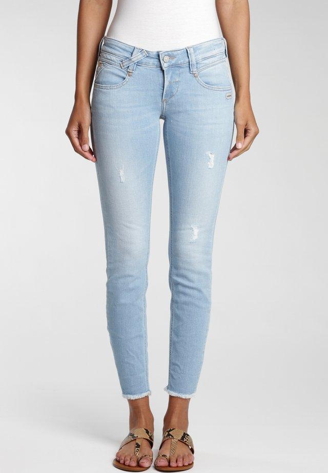 Jeans Skinny Fit - lightblue vintage