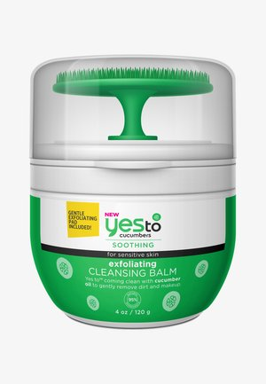 YES TO CUCUMBERS EXFOLIATING CLEANSING BALM 120G - Ansigtsrens - -