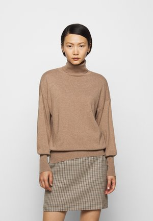 TURTLE NECK - Trui - camel