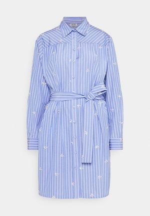 ABITO CAMICIA STRIPES - Shirt dress - bright blue