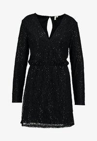 Nly by Nelly - SPARKLY DRESS - Robe de soirée - black - 6