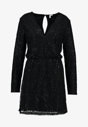 SPARKLY DRESS - Cocktailkjole - black
