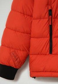 Napapijri - CIRCULAR PUFFER - Winter jacket - orange clay - 3