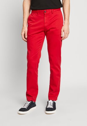 DENTON FLEX   - Chinos - red