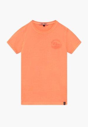 KIDS IRVY - Print T-shirt - fluor coral