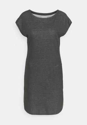 MOODY - Žerzejové šaty - lead grey