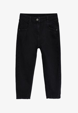 BARREL  - Straight leg jeans - black