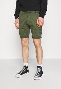 Alpha Industries - KEROSENE PATCH - Shorts - dark olive - 0