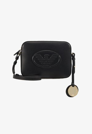 CAMERA WOMENS MINIBAG - Across body bag - nero