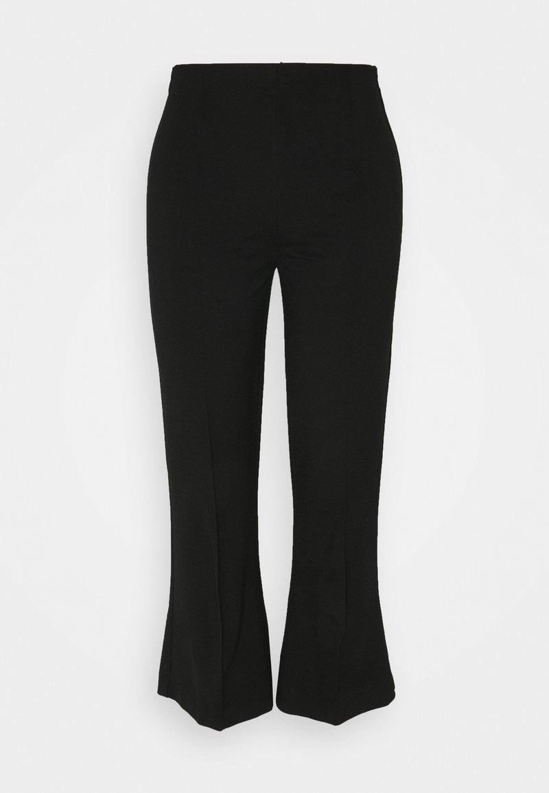 Sand Copenhagen - MALHIA CROPPED - Pantalon classique - black