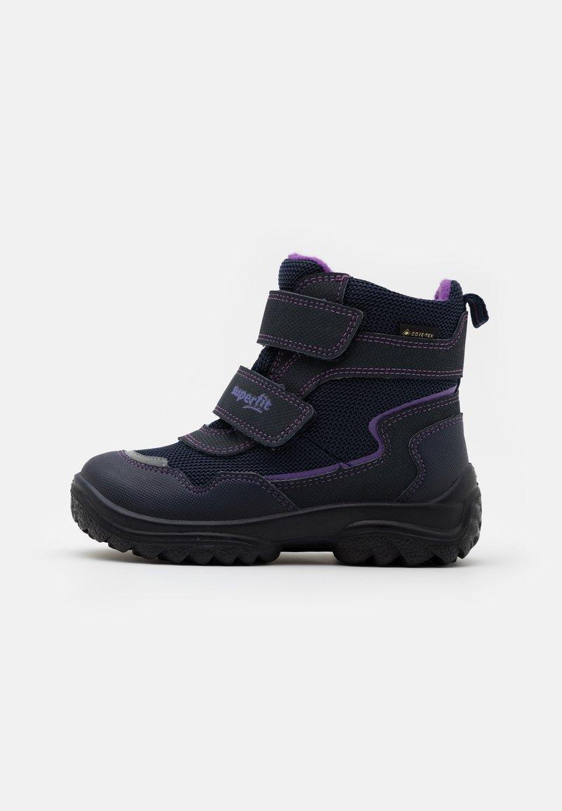 Superfit - SNOWCAT - Winter boots - blau/lila